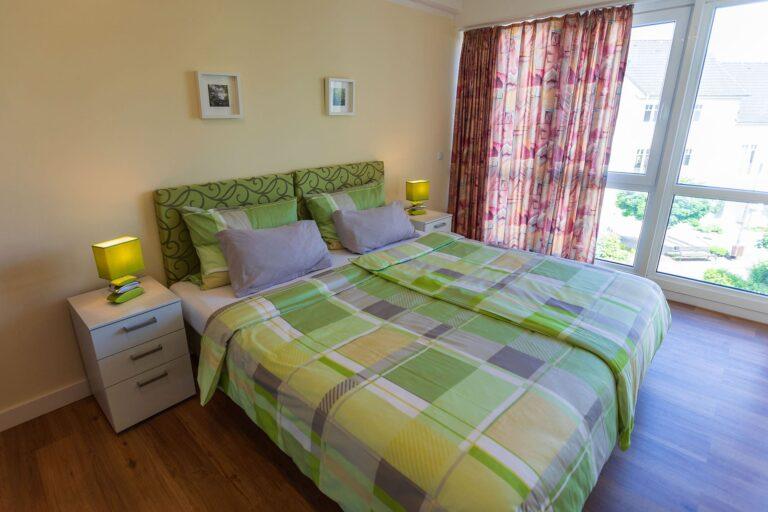 Pulvermaar Suite 217, kleines Schlafzimmer
